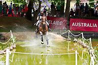 AUS-Sophie Adams (MERCATOR DU RY) 2012 AUS-Adelaide International 3 Day Event: CROSS COUNTRY-CCI** - INTERIM: ELIM