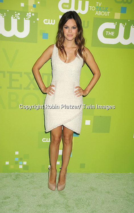 Rachel Bilson attending The CW 2011 Upfront on May 19, 2011 at Jazz at Lincoln Center in New York City.