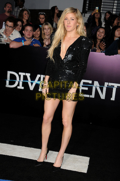 "18 March 2014 - Westwood, California - Ellie Goulding. ""Divergent"" Los Angeles Premiere held at The Regency Bruin Theatre."