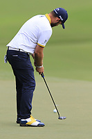 Andy Sullivan (ENG) putts on the 15th green during Friday's Round 2 of the 2017 PGA Championship held at Quail Hollow Golf Club, Charlotte, North Carolina, USA. 11th August 2017.<br /> Picture: Eoin Clarke | Golffile<br /> <br /> <br /> All photos usage must carry mandatory copyright credit (&copy; Golffile | Eoin Clarke)