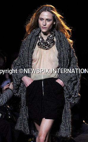 "GAETANO NAVARRA.Autumn 2010/2011 Collection, Milan Fashion Show, Milano_25/02/2010.Mandatory Credit Photo: ©NEWSPIX INTERNATIONAL..**ALL FEES PAYABLE TO: ""NEWSPIX INTERNATIONAL""**..IMMEDIATE CONFIRMATION OF USAGE REQUIRED:.Newspix International, 31 Chinnery Hill, Bishop's Stortford, ENGLAND CM23 3PS.Tel:+441279 324672  ; Fax: +441279656877.Mobile:  07775681153.e-mail: info@newspixinternational.co.uk"