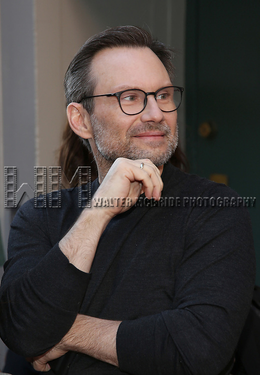 Christian Slater attends the Broadway Opening Night performance of 'Groundhog Day' at the August Wilson Theatre on April 17, 2017 in New York City
