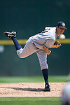 Columbus Clippers starting pitcher Steven White fires the ball to the plate versus the Charlotte Knights at Knights Stadium in Fort Mill, SC, Tuesday, July 18, 2006.