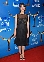 LOS ANGELES, CA. February 17, 2019: Megan Neuringer at the 2019 Writers Guild Awards at the Beverly Hilton Hotel.<br /> Picture: Paul Smith/Featureflash