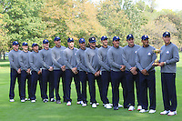 USA Team photo shoot during Monday's Practice Day of the 39th Ryder Cup at Medinah Country Club, Chicago, Illinois 25th September 2012 (Photo Eoin Clarke/www.golffile.ie)