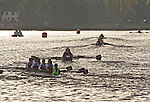 Rowing, Head of the Lake Regatta, November 2 2014, Seattle, Washington State, Lake Washington Rowing Club, Annual Regatta, Lake Washington Ship Canal, Montlake Cut,