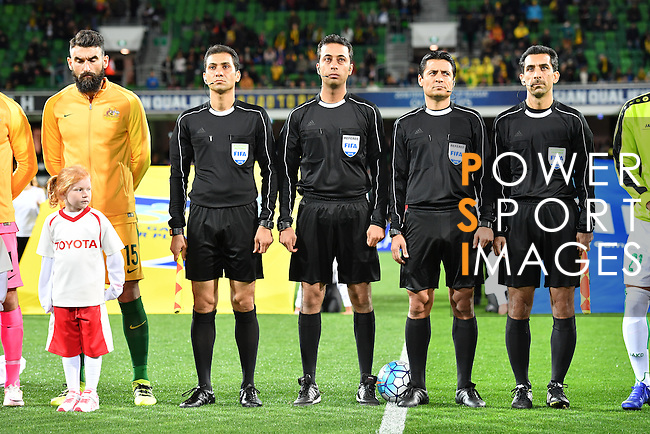 Australia vs Iraq during their 2018 FIFA World Cup Russia Final Qualification Round Group B match at Perth Oval on 01 September 2016, in Perth, Australia. Photo by Thananuwat Srirasant / Lagardere Sports