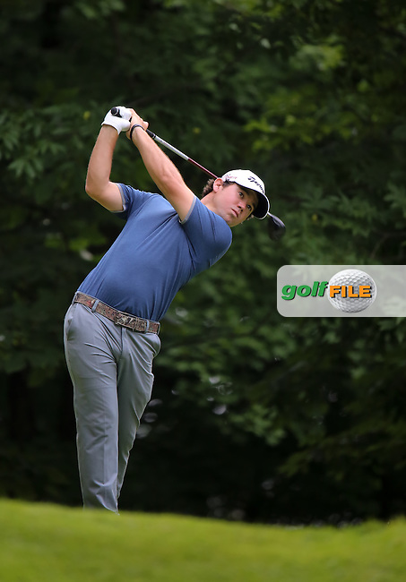 11 JUL 15 Defending Champion Brian Harman during Saturday's Third Round of the John Deere Classic at The TPC Deere Run in Silvis, Ill. (photo credit : kenneth e. dennis/kendennisphoto.com)
