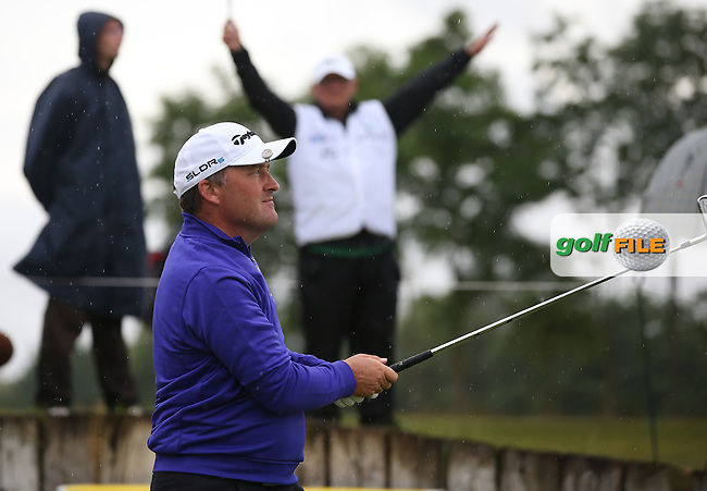 The back nine unkind to Damien McGrane (IRL) with four bogeys for a round of 75 during the Final Round of the Alstom Open de France from Le Golf National, Guyancourt, Versailles, France. Picture:  David Lloyd / www.golffile.ie