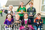 Art Competeiion : Pupils from Moyvane NS who won prizes in the art competition held at the School on Friday last. Included in the photo are Conor Mulvihill, Gillian Hannan, Alice Lally, Conor Kissane, Sheana Mulvihill, Ane Sheehy & Aoife Scanlon