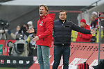 30.11.2019, RheinEnergieStadion, Koeln, GER, 1. FBL, 1.FC Koeln vs. FC Augsburg,<br />  <br /> DFL regulations prohibit any use of photographs as image sequences and/or quasi-video<br /> <br /> im Bild / picture shows: <br /> Markus Gisdol Trainer, Headcoach (1.FC Koeln), und Horst Heldt Geschäftsführer / Geschaeftsfuehrer Sport (1.FC Koeln), regen sich heftig auf<br /> <br /> Foto © nordphoto / Meuter