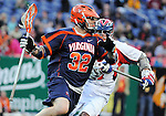 April 27, 2012:  University of Virginia's, Matt Kugler (32), in action during the Whitman's Sampler Mile High Classic, Sports Authority Field at Mile High, Denver, CO.  #6 Virginia defeats Penn State 10-8.