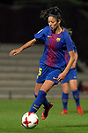 Spanish Women's Football League Iberdrola 2017/18 - Game: 9.<br /> FC Barcelona vs Madrid CFF: 7-0.<br /> Leila Ouahabi.