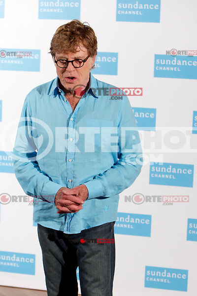 Actor Robert Redford attends a photocall for Sundance Channel at the Ritz Hotel in Madrid Spain. November 26, 2012. (ALTERPHOTOS/Caro Marin) /NortePhoto