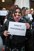 "27.02.2015 - ""#MaiConSalvini - SOAS Non Ti Vuole!!"" - London Demo"