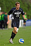 31 October 2007: The University of Binghamton Bearcats' Cody Germain, a Junior from Glenmont, NY, in action against the University of Vermont Catamounts at Historic Centennial Field in Burlington, Vermont. The Catamounts shut out the visiting Bearcats 2-0...Mandatory Photo Credit: Ed Wolfstein Photo