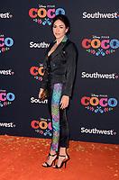 LOS ANGELES, CA - NOVEMBER 08: Alanna Ubach arriving at Disney Pixar's 'Coco' premiere at El Capitan Theatre on November 8, 2017 in Los Angeles, California. Credit: David Edwards/MediaPunch