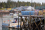 The fishing village of Corea, Downeast, ME, USA