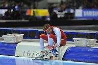 SCHAATSEN: HEERENVEEN: 28-12-2013, IJsstadion Thialf, KNSB Kwalificatie Toernooi (KKT), 10.000m, Robert Bovenhuis, ©foto Martin de Jong
