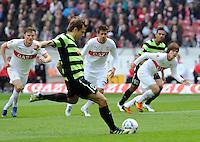 FUSSBALL  1. BUNDESLIGA  SAISON 2011/2012  29. Spieltag   07.04.2012 VfB Stuttgart - 1. FSV Mainz Andreas Ivanschitz (1. FSV Mainz 05) erzielt das Tor zum 0-1 per Elfmeter.