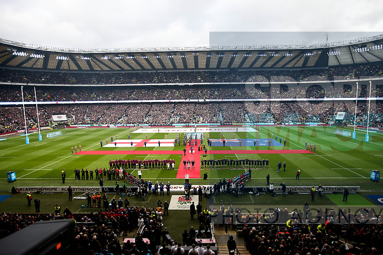 A GV  - QBE Autumn Internationals - England vs New Zealand - Twickenham Stadium - London - 08/11/2014 - Pic Charlie Forgham-Bailey/Sportimage