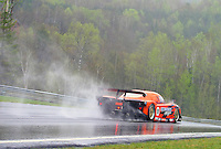 The #09 Pontiac Crawford of Doug Goad, Stephone Gregoire and Marc-Antoine Camirand races through the rain at the 6 Heueres du Circuit Mont-Tremblant in Mont-Tremblant, Qubec, Canada, on Saturday, May 21, 2005. (Photo by Brian Cleary/www.bcpix.com)