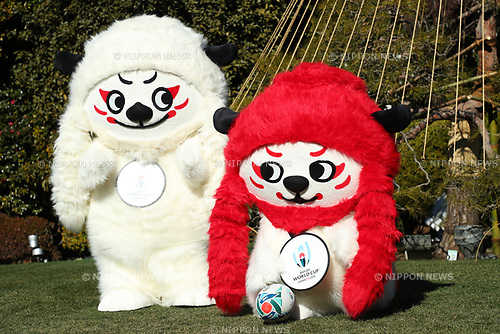 Ren-G, <br /> JANUARY 26, 2018 - Rugby : <br /> Rugby World Cup organizers announce <br /> the official mascot for the 2019 Rugby World Cup <br /> in Tokyo, Japan. <br /> (Photo by YUTAKA/AFLO)
