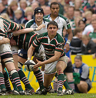 Leicester, ENGLAND.  Harry Ellis,Guinness Premiership Semi-Final. Leicester Tigers vs London Irish, at Welford Road, 05.2006. © Peter Spurrier/Intersport-images.com,  / Mobile +44 [0] 7973 819 551 / email images@intersport-images.com.   [Mandatory Credit, Peter Spurier/ Intersport Images].14.05.2006