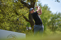 Matthew Wallace (ENG) watches his tee shot on 12 during day 1 of the WGC Dell Match Play, at the Austin Country Club, Austin, Texas, USA. 3/27/2019.<br /> Picture: Golffile | Ken Murray<br /> <br /> <br /> All photo usage must carry mandatory copyright credit (© Golffile | Ken Murray)