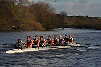 009 STA Star.Wallingford Head of the River. Sunday 27 November 2011. 4250 metres upstream on the Thames from Moulsford railway bridge to Oxford Universitiy's Fleming Boathouse in Wallingford. Event run by Wallingford Rowing Club..