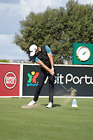Joakim Lagergren (SWE) during Wednesday Pro-Am of the Portugal Masters, Dom Pedro Victoria Golf Course, Vilamoura, Vilamoura, Portugal. 23/10/2019<br /> Picture Andy Crook / Golffile.ie<br /> <br /> All photo usage must carry mandatory copyright credit (© Golffile | Andy Crook)