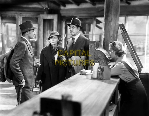 (L to R) Leslie Howard, Genevieve Tobin, Paul Harvey, Bette Davis.in The Petrified Forest.*Filmstill - Editorial Use Only*.CAP/PLF.Supplied by Capital Pictures.
