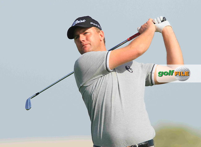 Robert Karlsson (SWE) in action during the Pro-Am for.the Commercialbank Qatar Masters presented by Dolphin Energy played at Doha Golf Club, Doha, Qatar on 2nd February 2011..Picture: Phil Inglis / www.golffile.ie.
