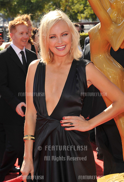 Malin Akerman at the 2012 Primetime Creative Emmy Awards at the Nokia Theatre, LA Live..September 15, 2012  Los Angeles, CA.Picture: Paul Smith / Featureflash
