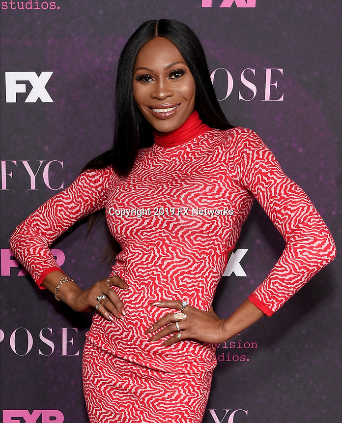 """LOS ANGELES - JUNE 1: Cast member Dominique Jackson attends the FYC Event for Fox 21 TV Studios & FX Networks """"Pose"""" at The Hollywood Athletic Club on June 1, 2019 in Los Angeles, California. (Photo by Stewart Cook/FX/PictureGroup)"""