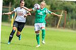 02.08.2020, wohninvest Weserstadion Platz 12, Bremen, GER,FSP, FLYERALARM, FFBL SV Werder Bremen vs  SV Henstedt-Ulzburg, <br /> <br /> <br /> <br />  im Bild<br /> <br /> Gabriella Tóth / Toeth (WerderBremen7)<br /> Melena Lux<br /> <br /> Foto © nordphoto / Kokenge