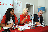 Labour Party Annual Conference<br /> Brighton<br /> 27-30 September<br /> Fringe meeting 'Backing the working class and beyond: How can we get a parliament that looks like us?' organised by Labour List and UNITE trade union.<br /> Jennie Formby, political director, UNITE, responds to a question from the audience.