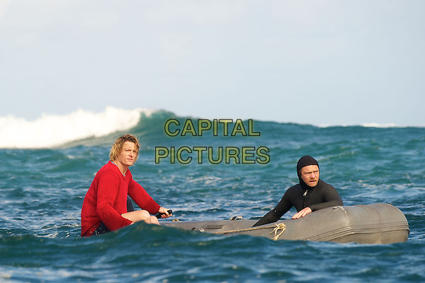 Myles Pollard, Sam Worthington<br /> in Drift (2013) <br /> (Wave Breakers)<br /> *Filmstill - Editorial Use Only*<br /> CAP/FB<br /> Image supplied by Capital Pictures