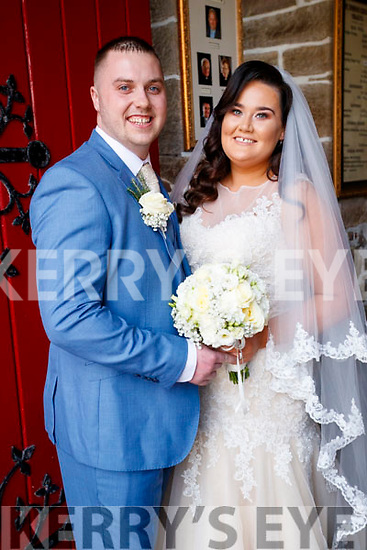 Niamh Curley, daughter of Paul Curley and Patricia Murray, Ballyroe, and Gavin O'Sullivan, son of Tom and Bernadette, Mitchels Court, Tralee, who were married on Saturday in St John's Church, Tralee. Fr Padraig Walsh officiated at the ceremony. Best man was Michael Wrenn and groomsmen were Jake Moran, Kevin Curley and Jack Hehir. Bridesmaids were Grainne Howard, Aoife Howard and Seana Curley. Flowergirl was Erin Curley. The reception was held in the Kenmare Bay Hotel and the couple will reside in Tralee.