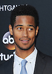 Alfred Enoch attending the screening of How To Get Away With Murder ATAS Event held at Sunset Gower Studios Los Angeles CA. May 28, 2015