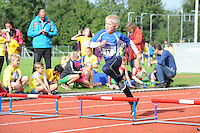 ATLETIEK: HEERENVEEN: 19-09-2015, Athletic Champs AV Heerenveen, Wybren Dijkstra (#17 | 8 jaar), ©foto Martin de Jong