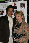 Erik Rivera (cohost) and ATWT Eileen Fulton (honorary chair of event) at the First Annual StarPet 2008 Awards Luncheon as dogs and cats compete for a career in showbusiness on November 10, 2008 at the Edison Ballroom, New York, New York. The event benefitted Bideawee and NY SAVE. (Photo by Sue Coflin/Max Photos