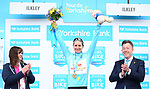 Megan Guarnier (USA) Boels Dolmans Cycling team wins Stage 2 and the overall of the Asda Womens Tour de Yorkshire 2018 running from Barnsley to Ikley, England. 4th May 2018.<br /> Picture: ASO/Alex Broadway | Cyclefile<br /> <br /> <br /> All photos usage must carry mandatory copyright credit (&copy; Cyclefile | ASO/Alex Broadway)