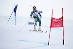 09 MAR 2016:  Thomas Woolson (5) of Dartmouth competes in the giant slalom during the NCAA Division I Men's and Women's Skiing Championships take place at the Steamboat Ski Resort in Steamboat Springs, CO.  Woolson placed 9th with a 1:52.46 time.  Jamie Schwaberow/NCAA Photos