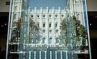 South Visitors Center, at Temple Square in Salt Lake City, Utah, Monday, October 1, 2012. ..Photo by Matt Nager