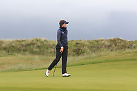 Linn Grant (SWE) on the 2nd green during Matchplay Semi-Finals of the Women's Amateur Championship at Royal County Down Golf Club in Newcastle Co. Down on Saturday 15th June 2019.<br /> Picture:  Thos Caffrey / www.golffile.ie