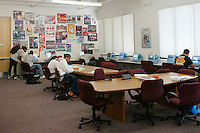 22 April 2003: Photo of the ARC, Academic Resource Center in the Arrillaga Family Sports Center in Stanford, CA.