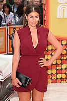 "Imogen Thomas<br /> arrives for the premiere of ""The Nice Guys"" at the Odeon Leicester Square, London.<br /> <br /> <br /> ©Ash Knotek  D3120  19/05/2016"