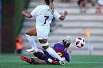 FC Barcelona vs Montpellier HSC: 1-2.<br /> Sakina Karchaoui vs Mapi Leon.