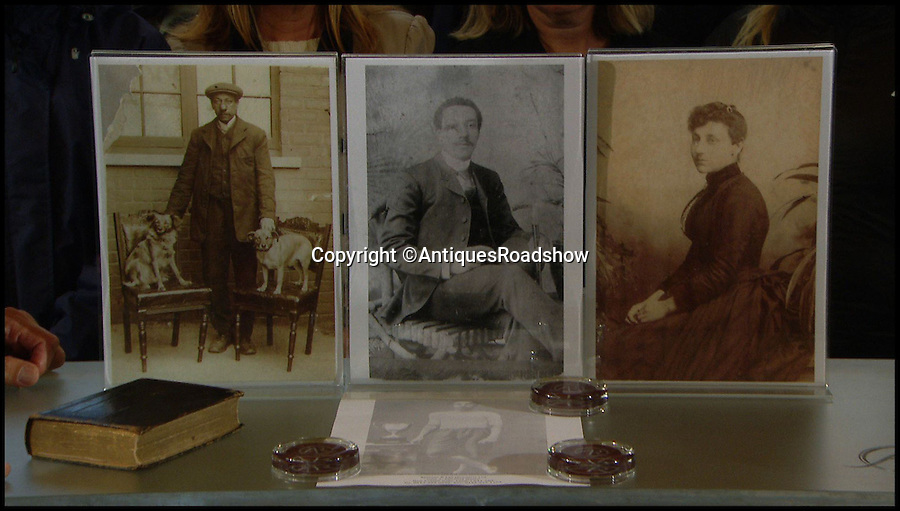 BNPS.co.uk (01202 558833)<br /> Pic: AntiquesRoadshow/BNPS<br /> <br /> Images of Arthur Wharton on the Antiques Roadshow.<br /> <br /> <br /> The little-known story of the first professional black footballer to play in England over 100 years ago only to become a poor minner has emerged.<br /> <br /> Arthur Wharton was a teenage immigrant from the Gold Coast - Ghana - who came from a wealthy family and was sent to the UK for a Christian education.<br /> <br /> While here he developed into an incredibly talented athlete and excelled at running, football and cricket.<br /> <br /> After winning the AAA national championships for the 100 yard sprint, Arthur went on to become an accomplished goalkeeper.<br /> <br /> In 1888 he signed professional terms with Preston North End who played in the old Division One, what is now the Premier League.